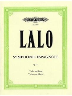 Edouard Lalo: Symphonie Espagnole Op.21 (Violin/Piano) Books   Violin, Piano Accompaniment
