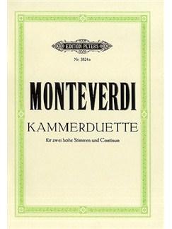 Claudio Monteverdi: 6 Duets (High Voice) Books | High Voice (Duet), Piano Accompaniment