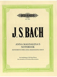 J.S. Bach: Anna Magdalena's Notebook Books | Piano