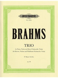 Johannes Brahms: Trio Op.40 (Set Of Parts) Books | Violin, Horn, Piano Chamber