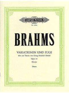 Johannes Brahms: Variationen Und Fuge Op.24 Books | Piano
