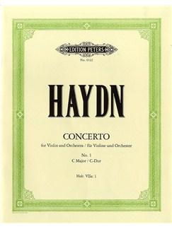 Franz Joseph Haydn: Concerto No.1 In C Hob.VIIa/1 Books | Violin, Piano Accompaniment