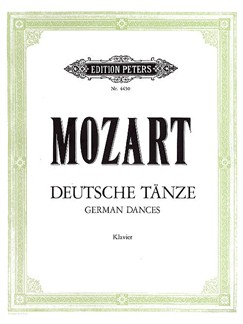 W.A. Mozart: German Dances (Piano) Books | Piano