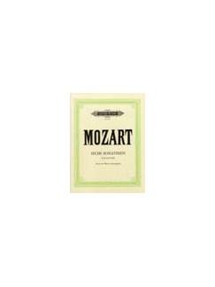 W.A. Mozart: 6 Viennese Sonatinas Books   Piano