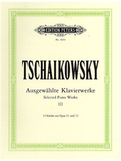 Pyotr Ilyich Tchaikovsky: Selected Piano Works - Volume 3 Books | Piano