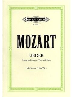 W.A. Mozart: Leider (High Voice) Books | High Voice, Piano Accompaniment