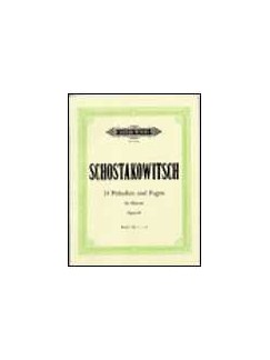 Dmitri Schostakovitsch: 24 Preludes And Fugues Op.87 (Piano) - Book 2 Books | Piano