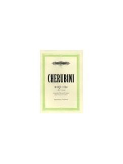 Luigi Cherubini: Requiem In C Minor - Vocal Score (Peters Edition) Books | SATB