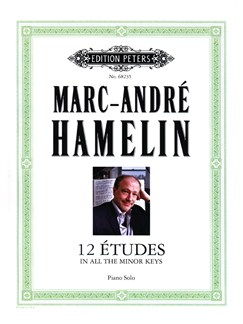 Marc André Hamelin: 12 Etudes In All The Minor Keys Books | Piano