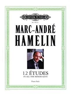 Marc André Hamelin: 12 Etudes In All The Minor Keys Libro | Piano