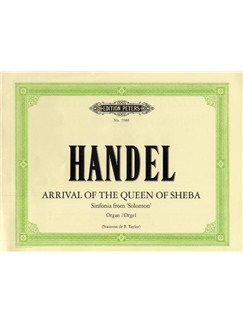 George Frideric Handel: Arrival Of The Queen Of Sheba (Organ) Books | Organ