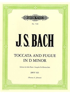 J.S. Bach: Toccata And Fugue In D Minor - Piano Solo Books | Piano, Harpsichord
