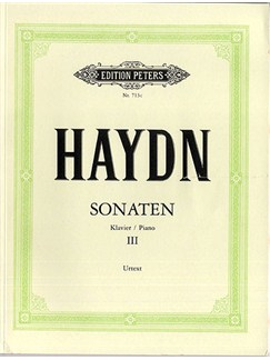 Joseph Haydn: Sonaten Hob. XVI - Volume 3 (Piano) Libro | Piano