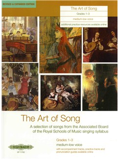 The Art Of Song: Grade 1-3 (Medium-Low Voice) - Revised Edition Books | Medium Voice, Voice, Low Voice, Piano Accompaniment, Baritone Voice, Bass Voice, Mezzo-Soprano
