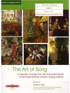 Art Of Song Grade 6 (Medium Voice) - Revised Edition Books | Medium Voice, Piano Accompaniment