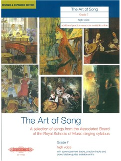 Art Of Song Grade 7 (High Voice) - Revised Edition Bog | Stemme, Høj stemme, Klaverakkompagnement