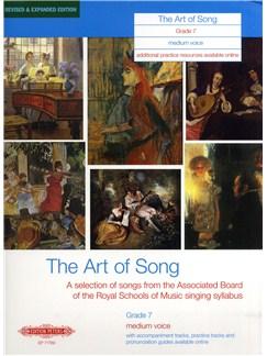 Art Of Song Grade 7 (Medium Voice) - Revised Edition Books | Medium Voice, Piano Accompaniment