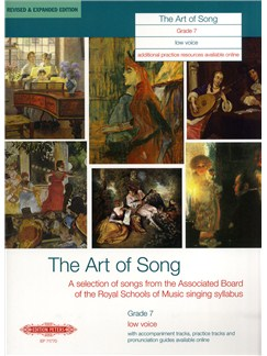 Art Of Song Grade 7 (Low Voice) - Revised Edition Books | Low Voice, Piano Accompaniment