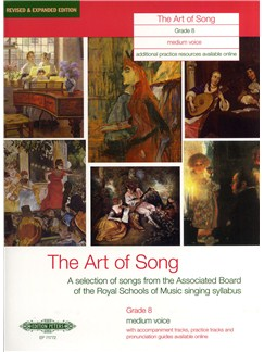 Art Of Song Grade 8 (Medium Voice) - Revised Edition Books | Medium Voice, Piano Accompaniment