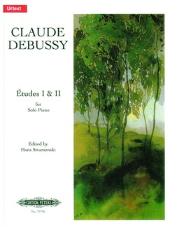 Claude Debussy: Etudes Books 1 And 2 - Urtext Books | Piano