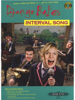 Django Bates: Interval Song - Education Pack Books and CDs | Voice, Piano Accompaniment