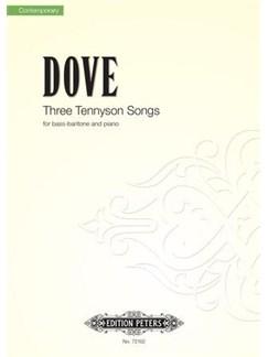 Jonathan Dove: Three Tennyson Songs For Bass-Baritone And Piano Books | Bass Voice, Piano Accompaniment
