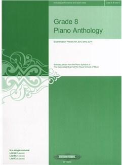 Grade 8 Piano Anthology 2013/14 Books | Piano