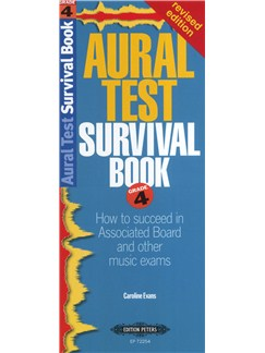 Caroline Evans: Aural Test Survival Book - Grade 4 Books |