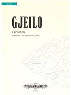 Ola Gjeilo: Contrition Books | Soprano, SSAATTBB, Choral