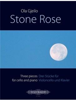 Ola Gjeilo: Stone Rose 3 Pieces For Cello And Piano Books | Cello, Piano Accompaniment