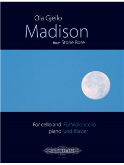 Ola Gjeilo: Madison (Stone Rose) Libro | Cello, Acompañamiento de Piano