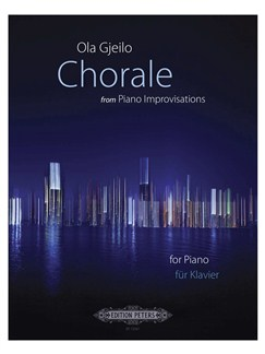 Ola Gjeilo: Chorale (From Piano Improvisations)(2012) Libro | Piano