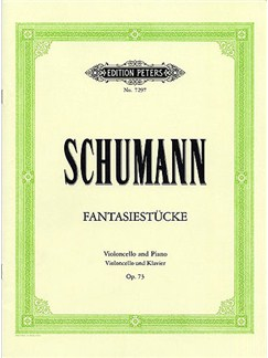 Robert Schumann: Fantasiestucke Op.73 (Cello/Piano) Books | Cello, Piano Accompaniment