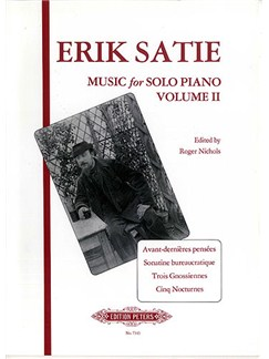 Erik Satie: Music For Solo Piano - Volume 2 Books | Piano