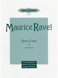 Maurice Ravel: Jeux d'Eau Books | Piano