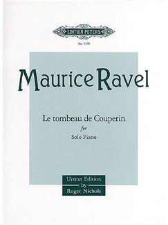 Maurice Ravel: Le Tombeau De Couperin Books | Piano