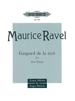Maurice Ravel: Gaspard De La Nuit Books | Piano