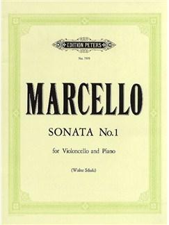 Benedetto Marcello: Sonata In F Op.2 No.1 Books | Cello, Piano Accompaniment