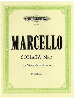 Benedetto Marcello: Sonata No.2 In E Minor (Cello/Piano) Books | Cello, Piano Accompaniment