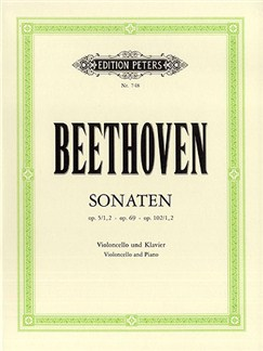 Beethoven: Cello Sonatas (Cello and Piano) Books | Cello, Piano Accompaniment