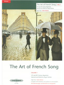 The Art Of French Song Volume 1 (High Voice) Books | High Voice, Piano Accompaniment