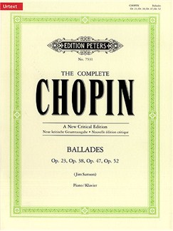 Jim Samson: Chopin - The Four Ballades Books | Piano