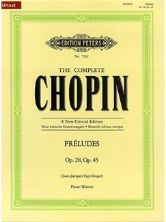 The Complete Chopin - Preludes Op. 28 & 45 Books | Piano