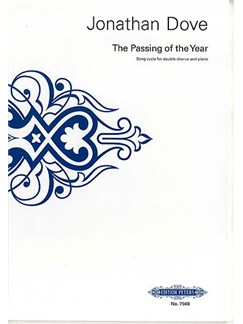 Jonathan Dove: The Passing Of The Year Books | SATB, Piano Accompaniment