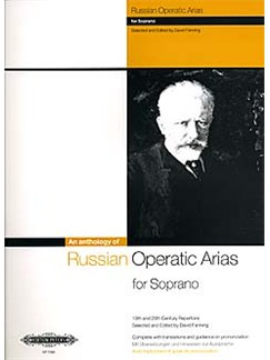 An Anthology Of Russian Operatic Arias For Soprano Libro | Soprano, Acompañamiento de Piano