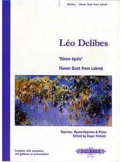 Leo Delibes: Flower Duet From Lakme Books | Soprano, Mezzo-Soprano, Piano Accompaniment