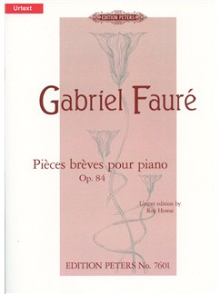 Gabriel Fauré: 8 Piéces Bréves For Piano Op.84 Books | Piano