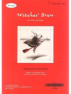 Caroline Lumsden: Witches' Brew - Violin Books and CDs | Violin