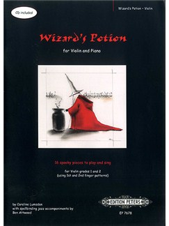 Caroline Lumsden: Wizard's Potion - Violin Books and CDs | Violin, Piano Accompaniment
