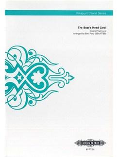 The Boars Head Carol (Kikapust Choral Series) Books | SSAATTBB, Choral